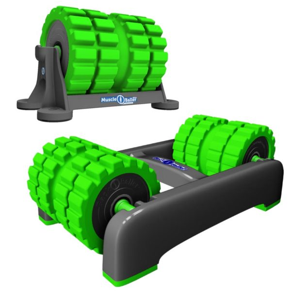 BackBaller Sports Foam Roller Combo